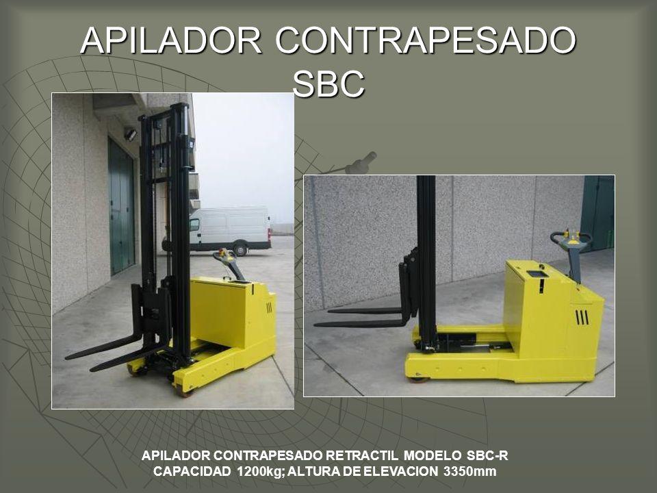 APILADOR CONTRAPESADO SBC