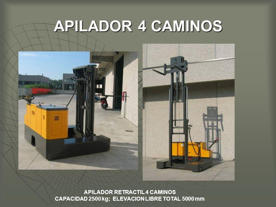 APILADOR RETRACTIL 4 CAMINOS