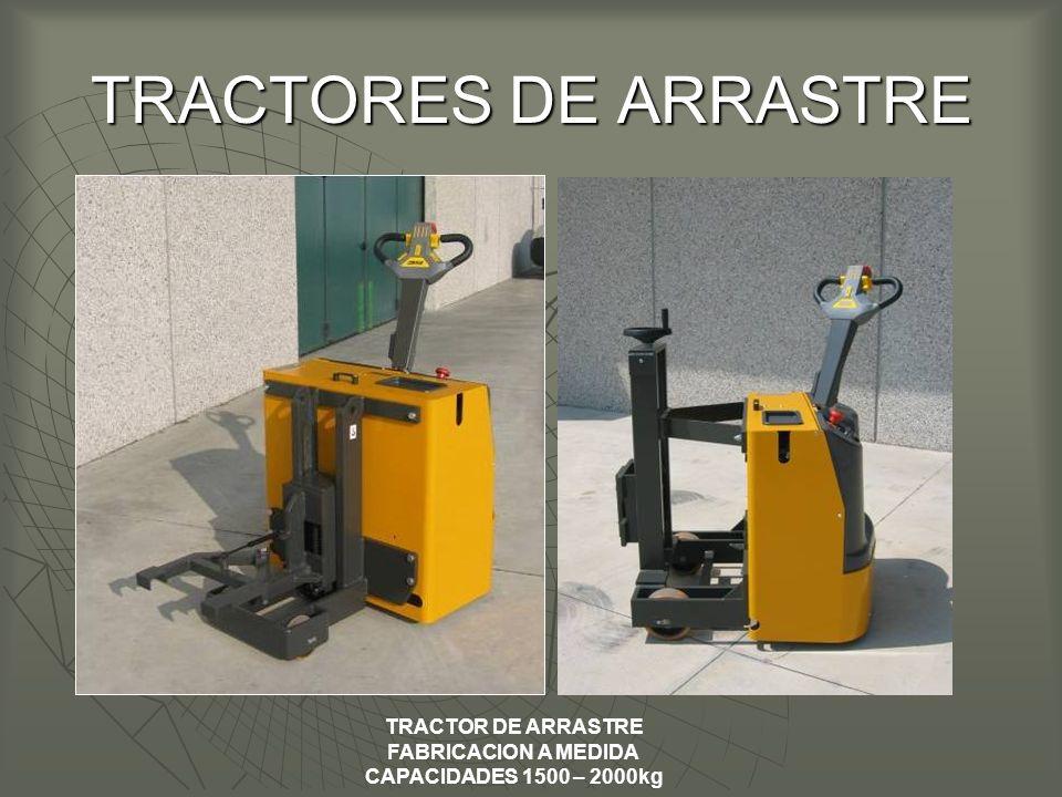 TRACTORES DE ARRASTRE TRACTOR DE ARRASTRE FABRICACION A MEDIDA