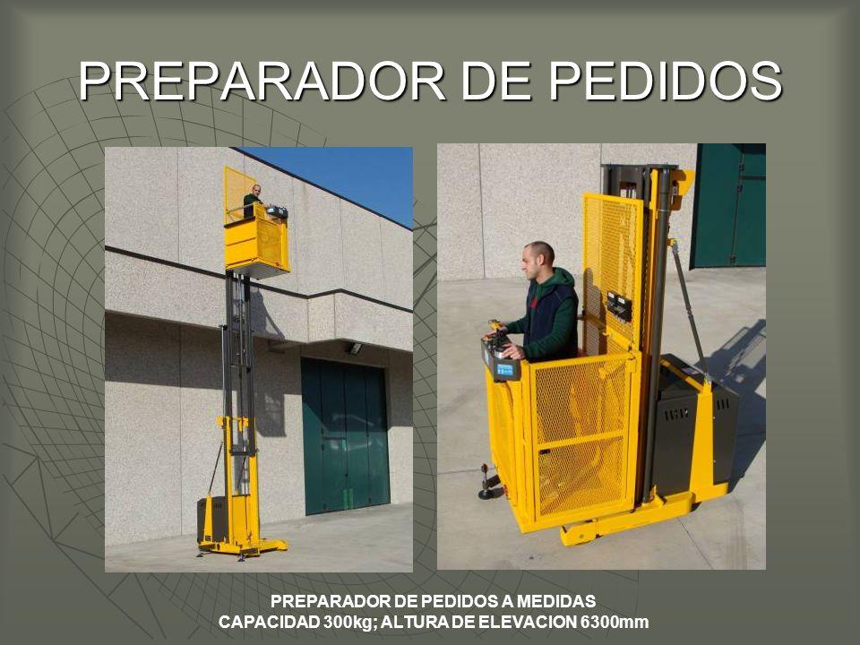 PREPARADOR DE PEDIDOS PREPARADOR DE PEDIDOS A MEDIDAS
