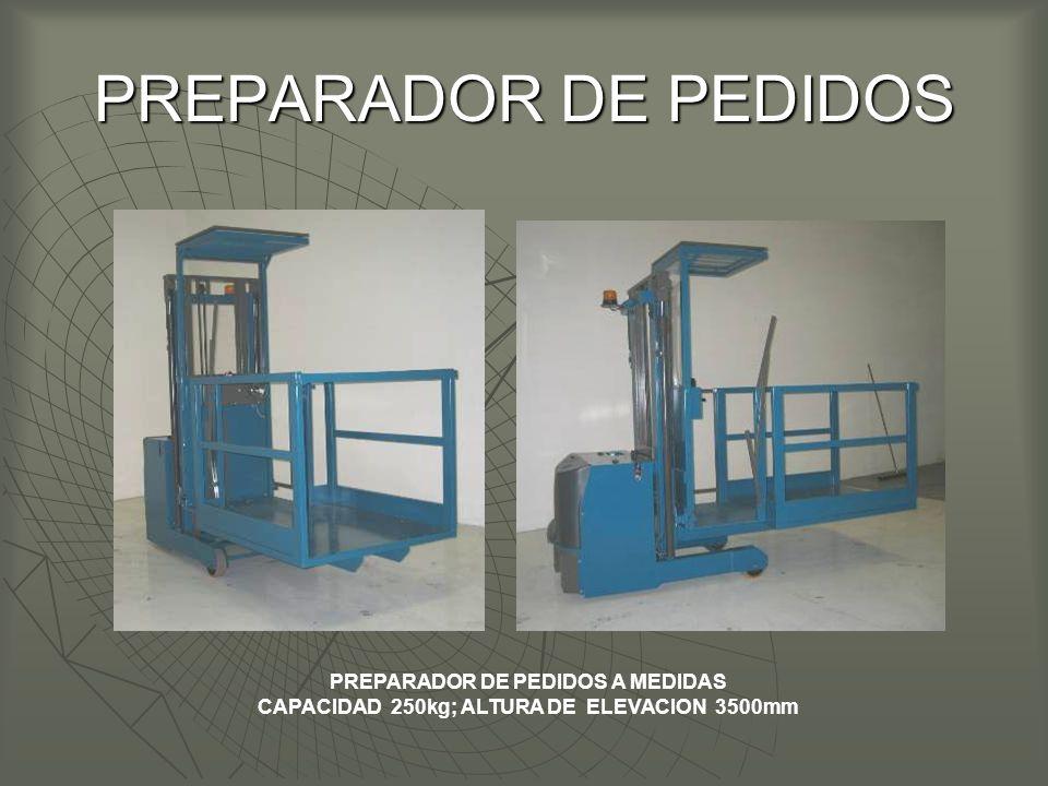 PREPARADOR DE PEDIDOS A MEDIDAS