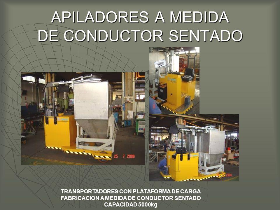 APILADORES A MEDIDA DE CONDUCTOR SENTADO