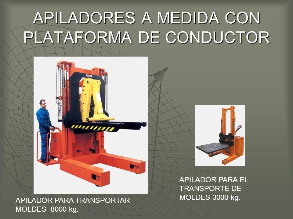 APILADORES A MEDIDA CON PLATAFORMA DE CONDUCTOR