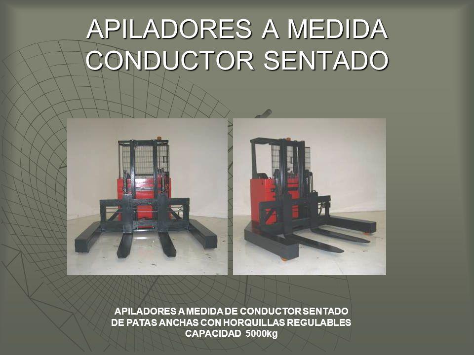APILADORES A MEDIDA CONDUCTOR SENTADO