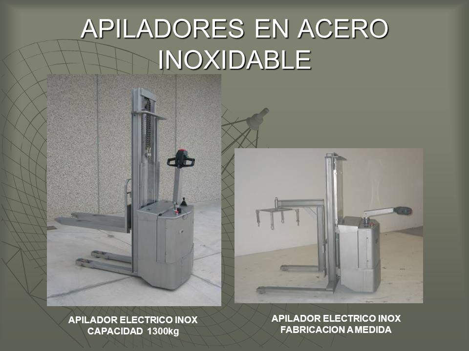 APILADORES EN ACERO INOXIDABLE