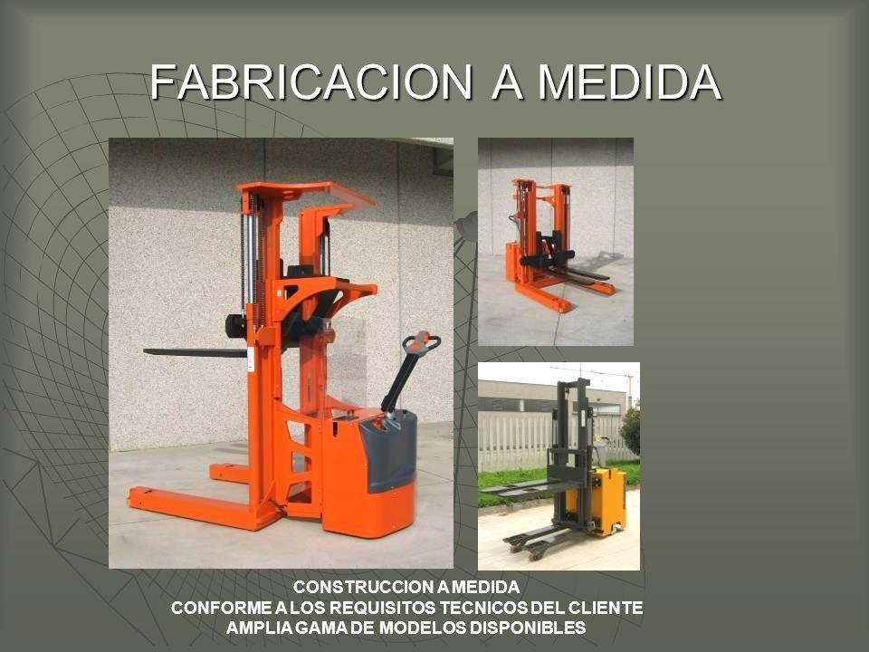 FABRICACION A MEDIDA CONSTRUCCION A MEDIDA