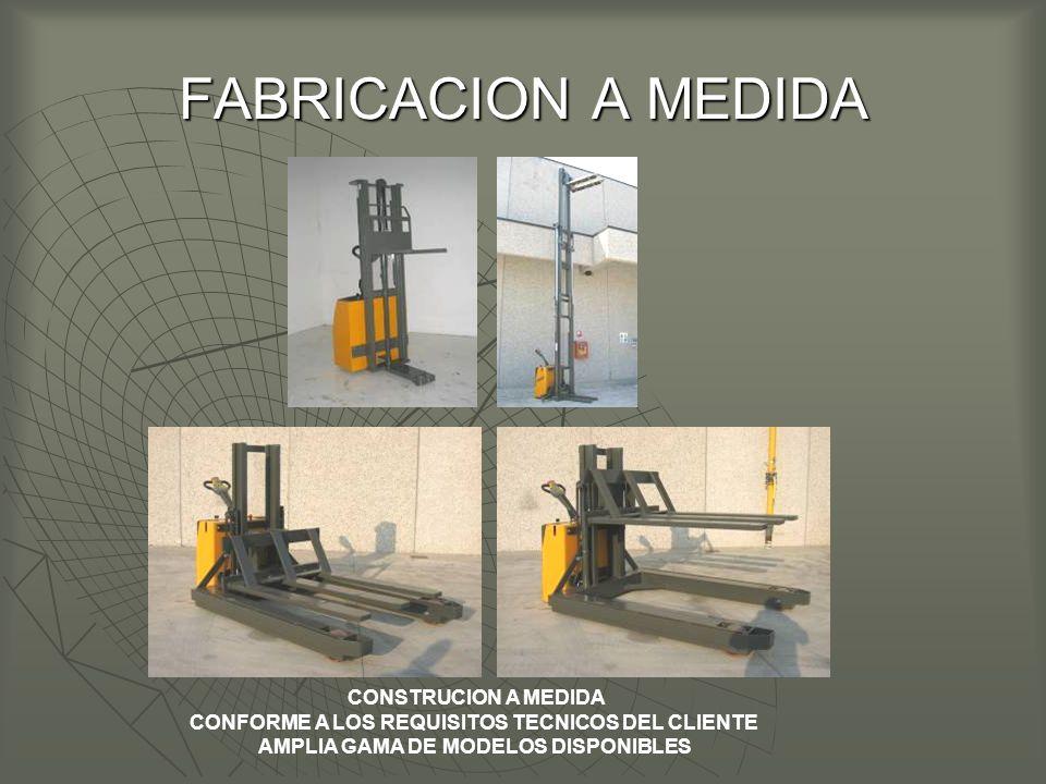 FABRICACION A MEDIDA CONSTRUCION A MEDIDA