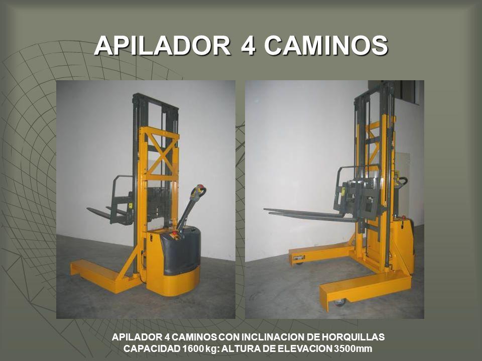 APILADOR 4 CAMINOS APILADOR 4 CAMINOS CON INCLINACION DE HORQUILLAS