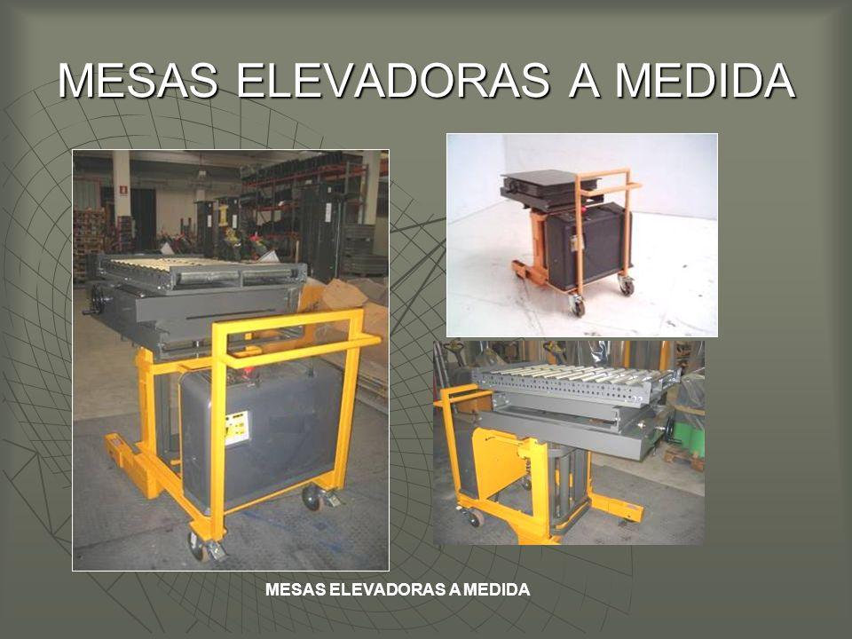 MESAS ELEVADORAS A MEDIDA