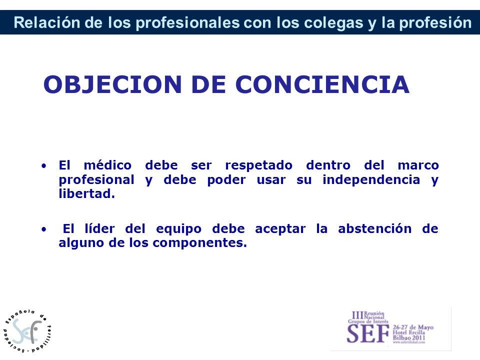OBJECION DE CONCIENCIA