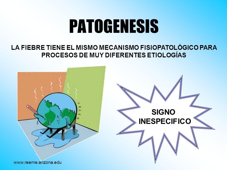 PATOGENESIS SIGNO INESPECIFICO