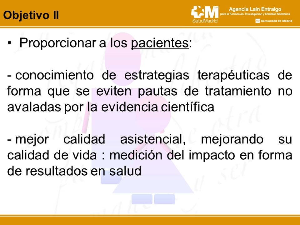 Proporcionar a los pacientes: