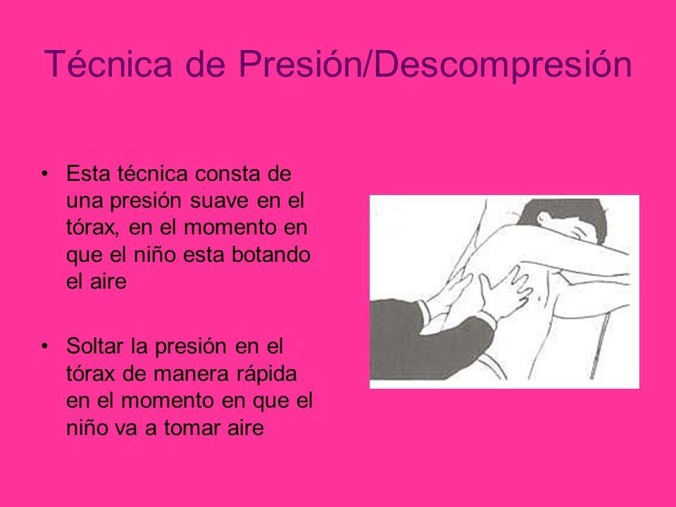 Técnica de Presión/Descompresión