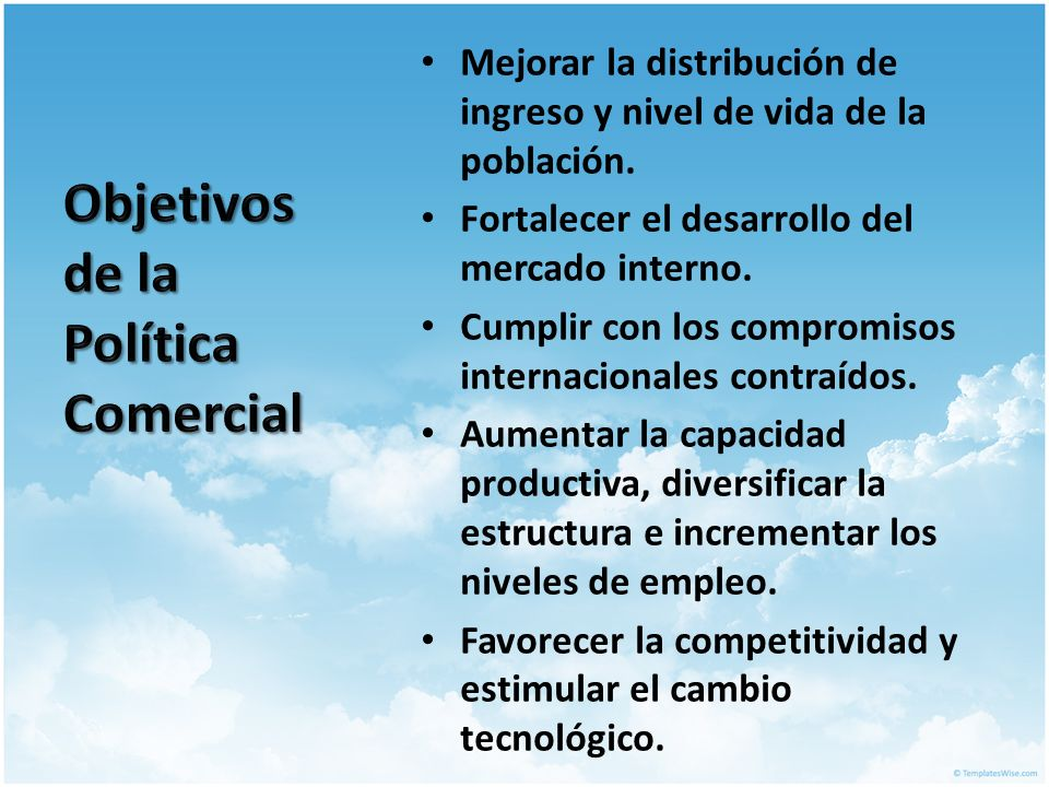 Politicas de comercio internacional ppt video online for La politica internacional
