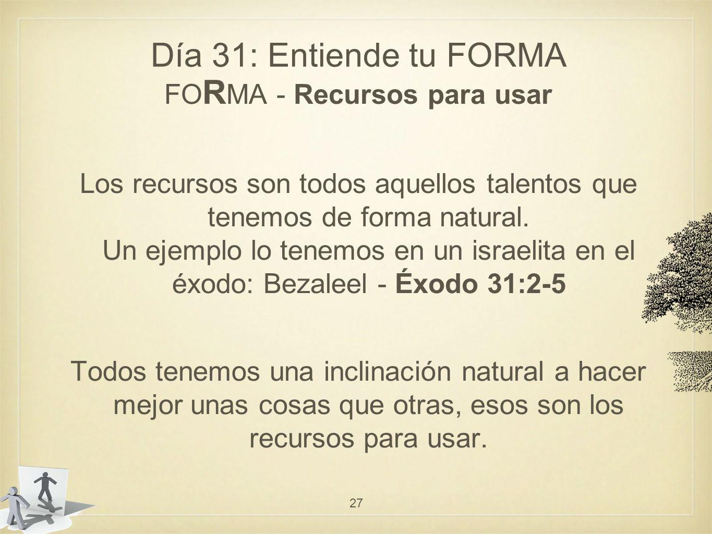 FORMA - Recursos para usar