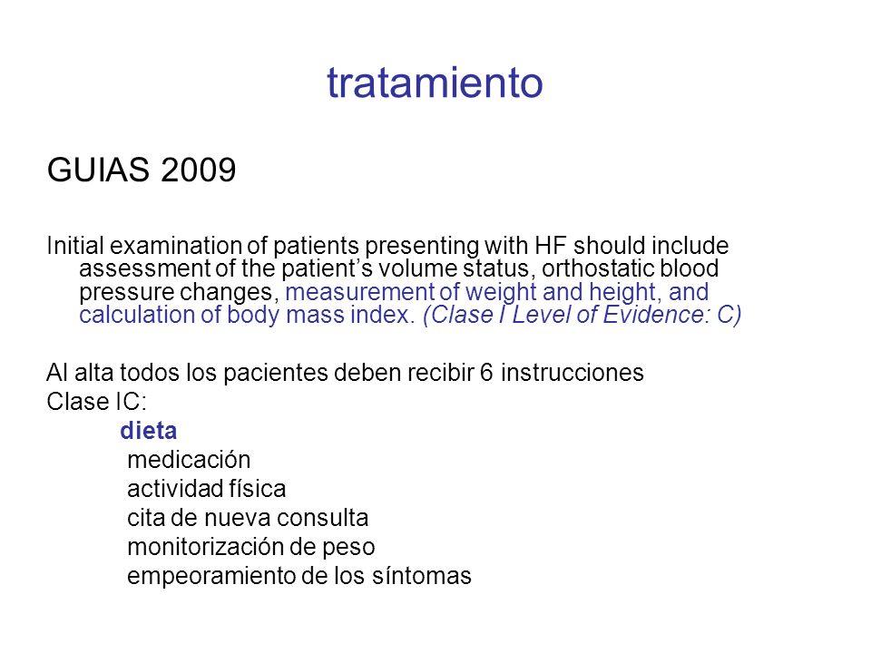 tratamiento GUIAS 2009.