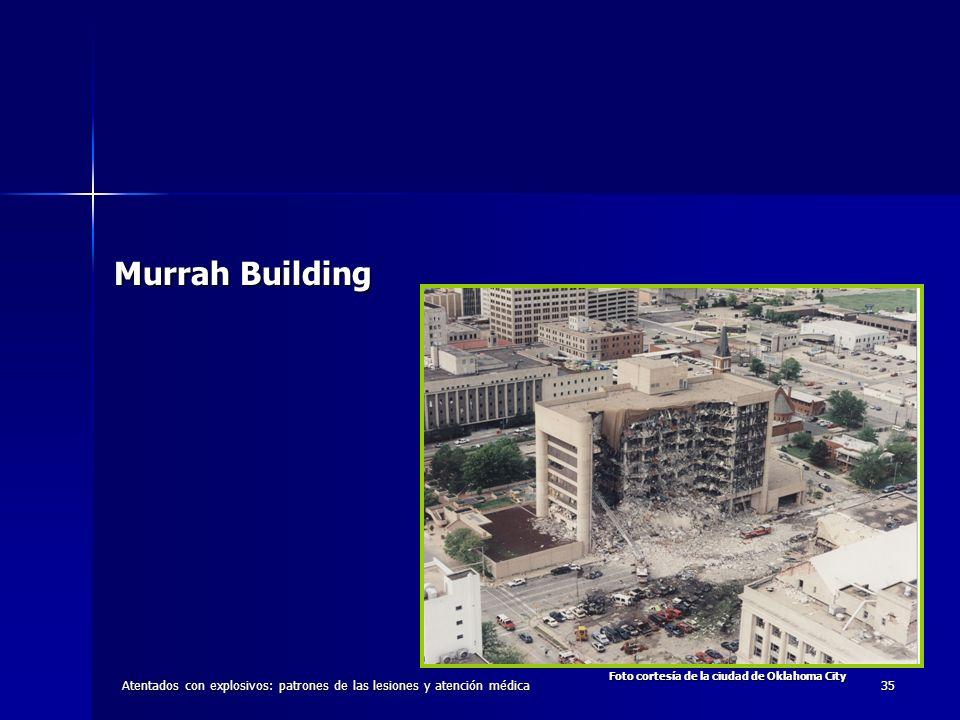 Murrah Building Foto cortesía de la ciudad de Oklahoma City.