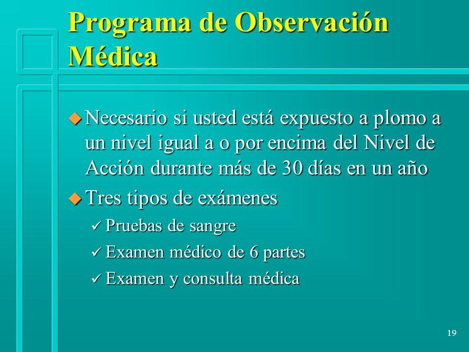 Programa de Observación Médica