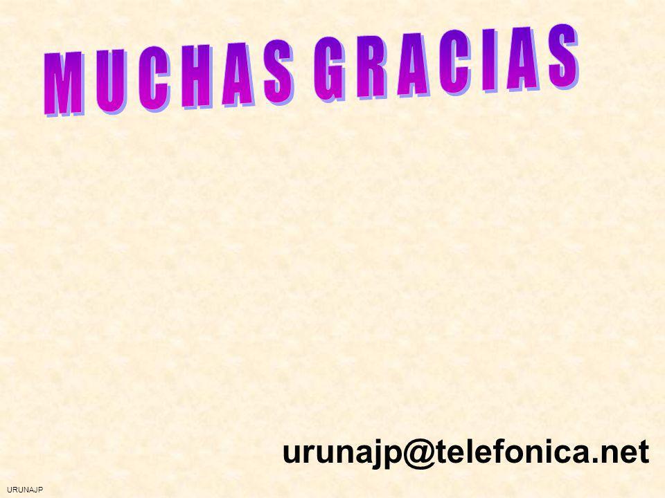 M U C H A S G R A C I A S urunajp@telefonica.net