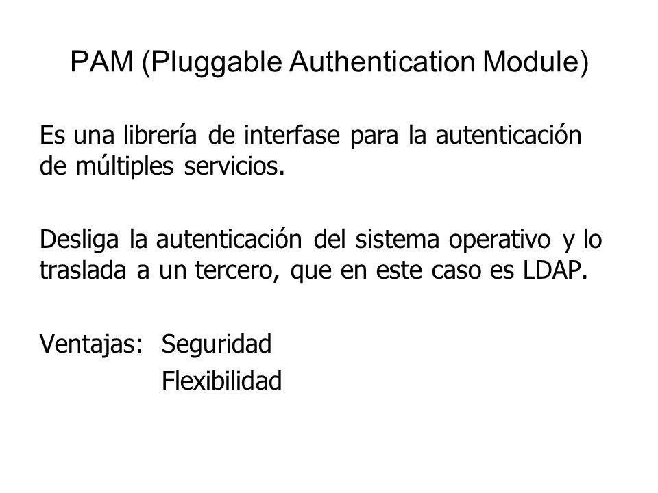 PAM (Pluggable Authentication Module)