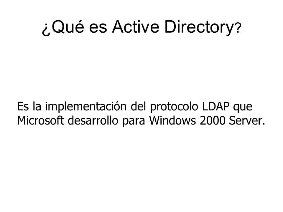 ¿Qué es Active Directory