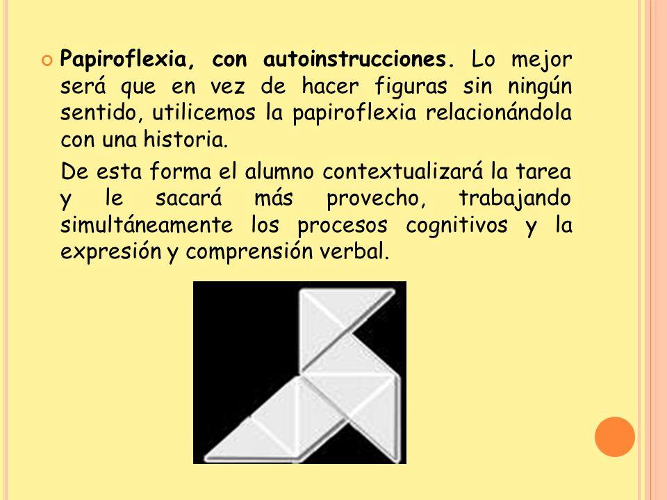 Papiroflexia, con autoinstrucciones
