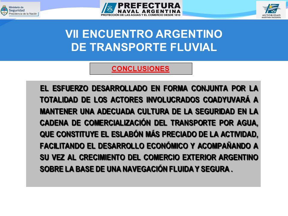 VII ENCUENTRO ARGENTINO