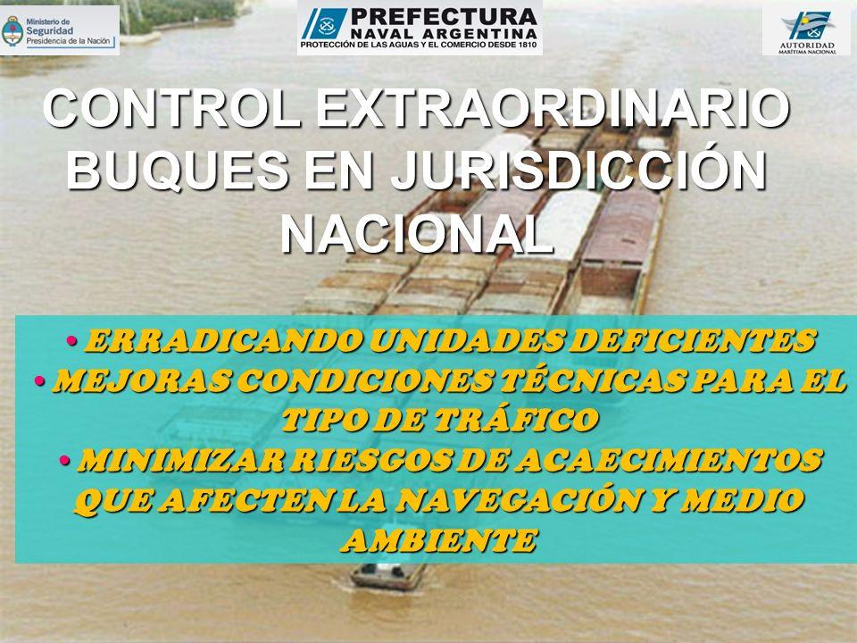 CONTROL EXTRAORDINARIO BUQUES EN JURISDICCIÓN NACIONAL