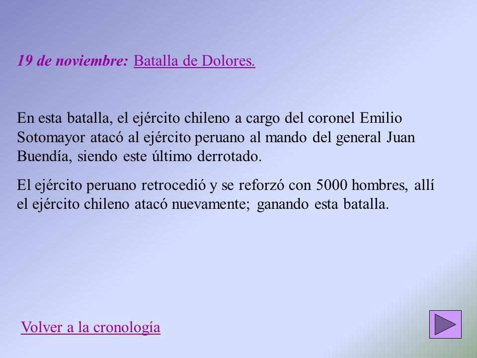 19 de noviembre: Batalla de Dolores.