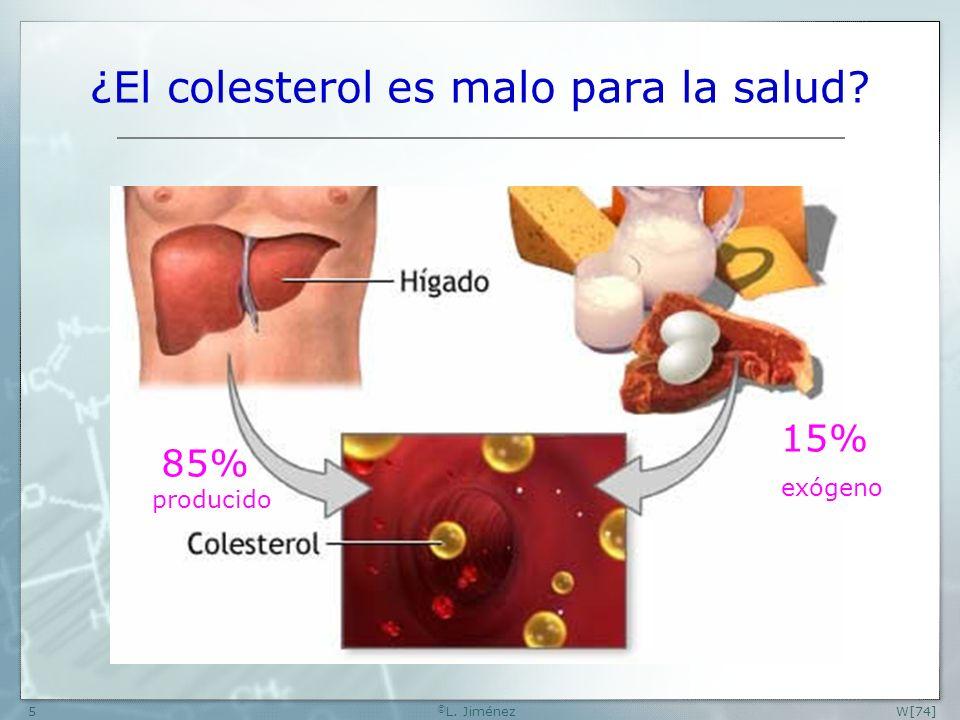¿El colesterol es malo para la salud