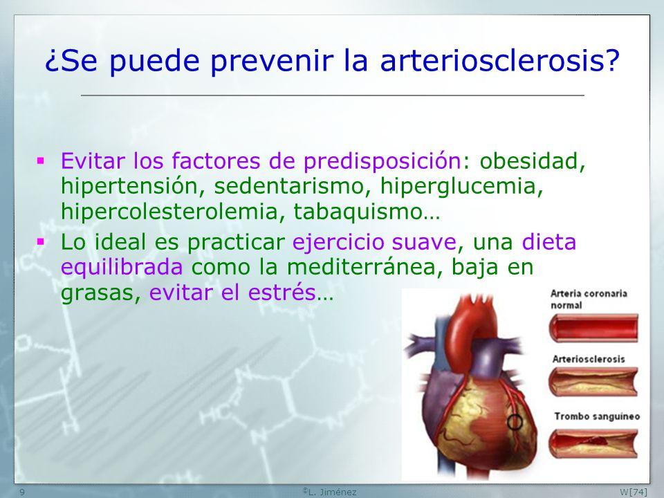 ¿Se puede prevenir la arteriosclerosis