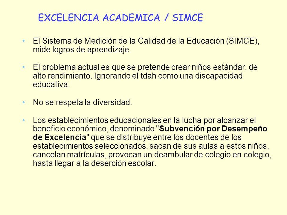 EXCELENCIA ACADEMICA / SIMCE