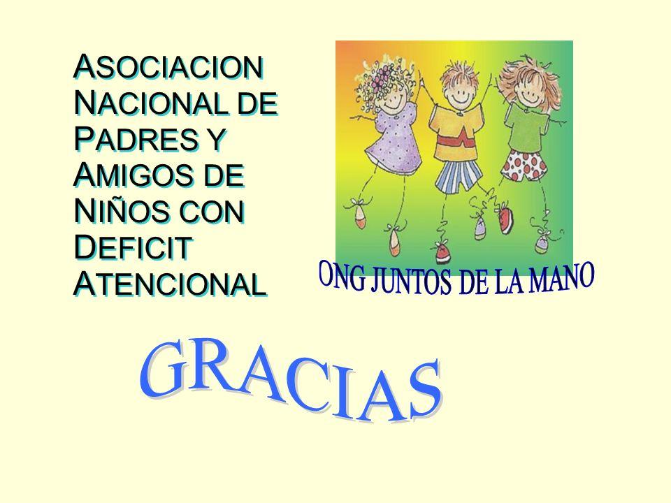 ASOCIACION NACIONAL DE PADRES Y AMIGOS DE NIÑOS CON DEFICIT ATENCIONAL
