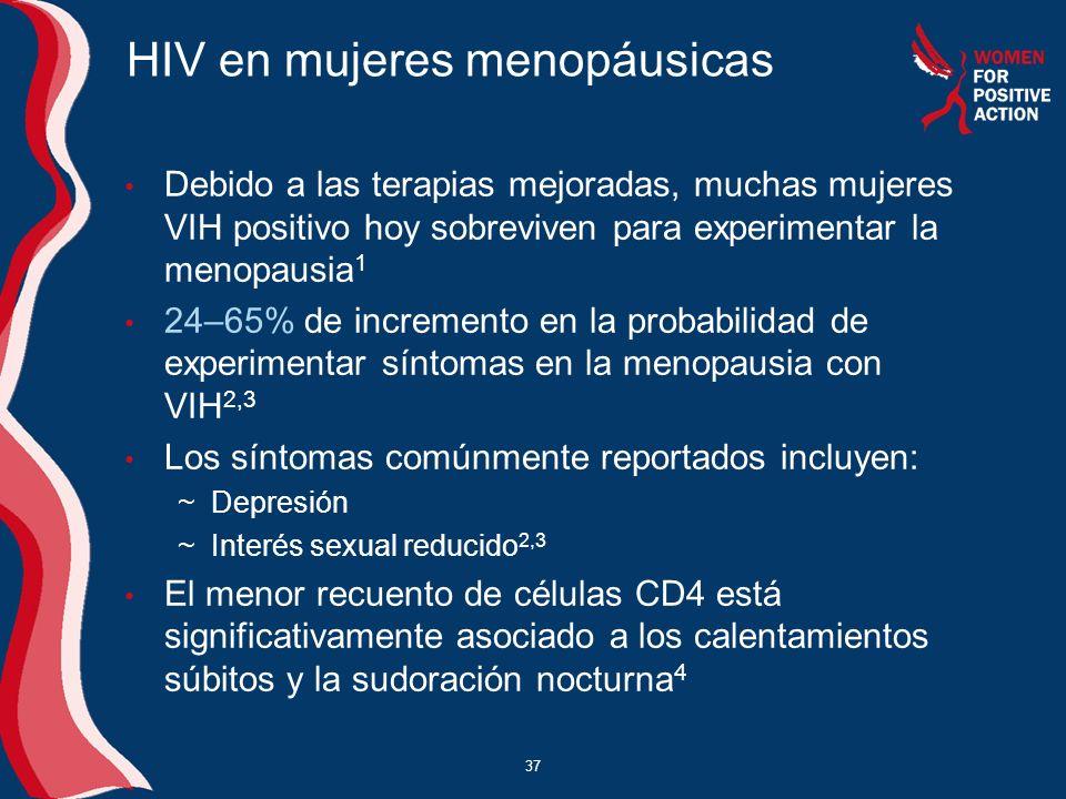 HIV en mujeres menopáusicas