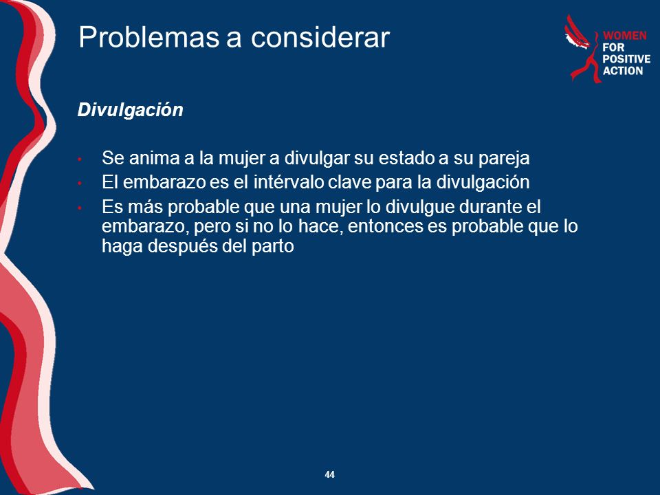 Problemas a considerar