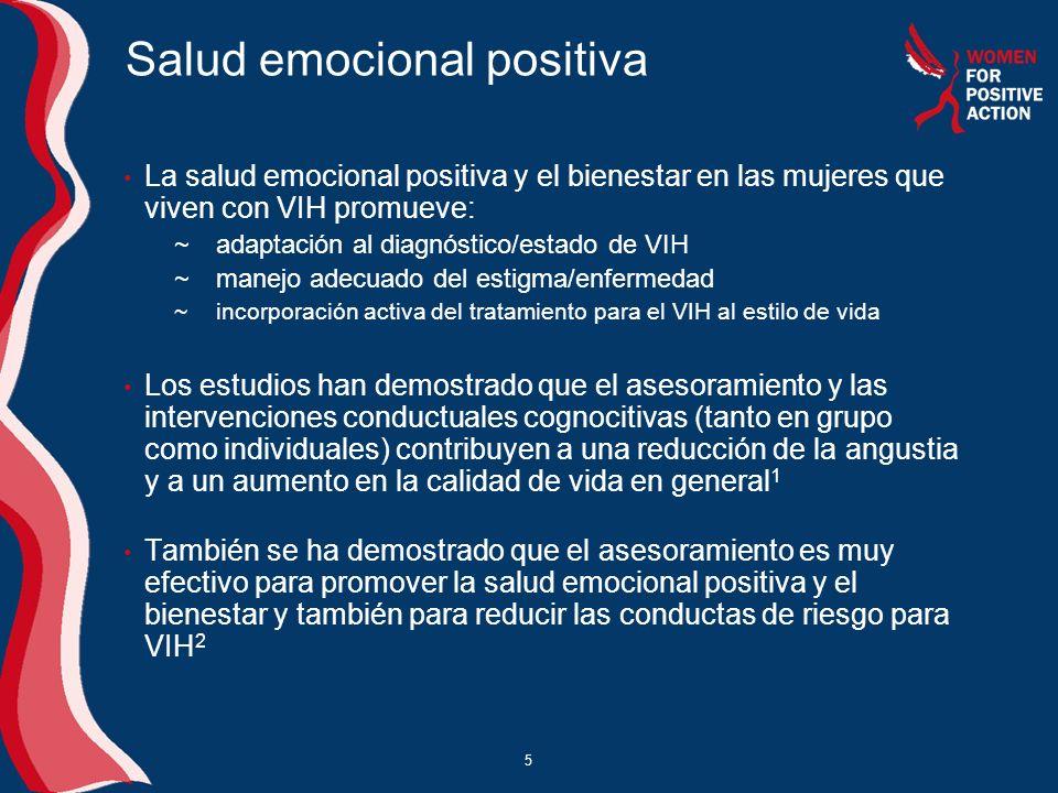 Salud emocional positiva