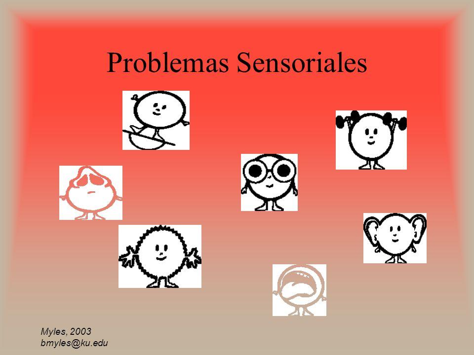 Problemas Sensoriales