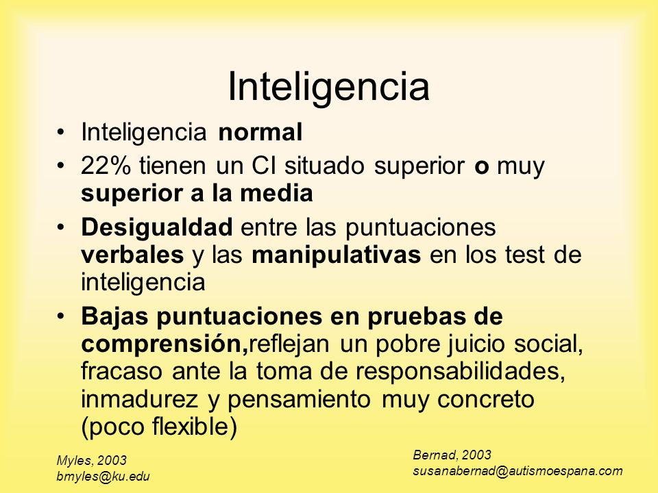 Inteligencia Inteligencia normal