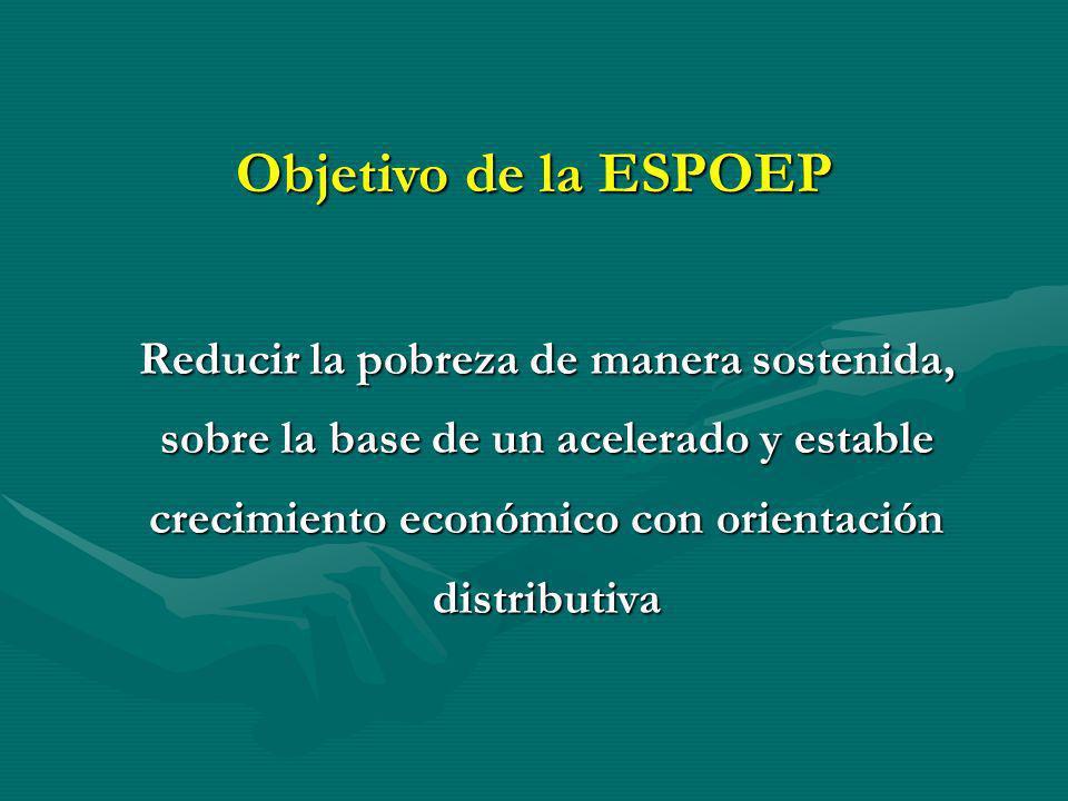 Objetivo de la ESPOEP