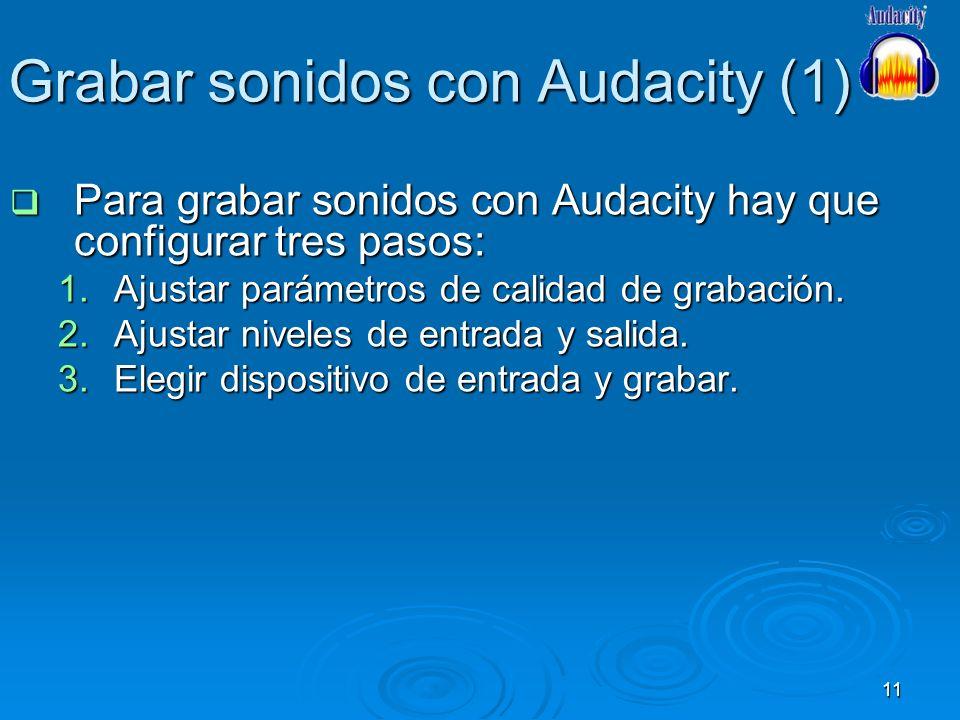 Grabar sonidos con Audacity (1)