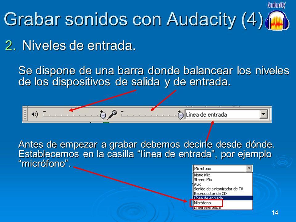 Grabar sonidos con Audacity (4)