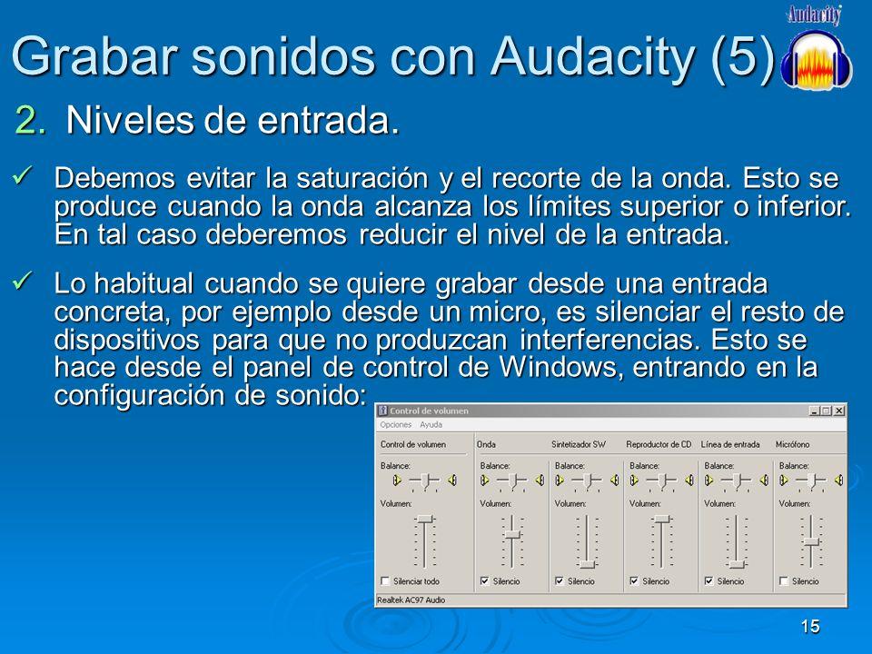 Grabar sonidos con Audacity (5)