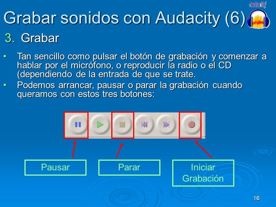 Grabar sonidos con Audacity (6)