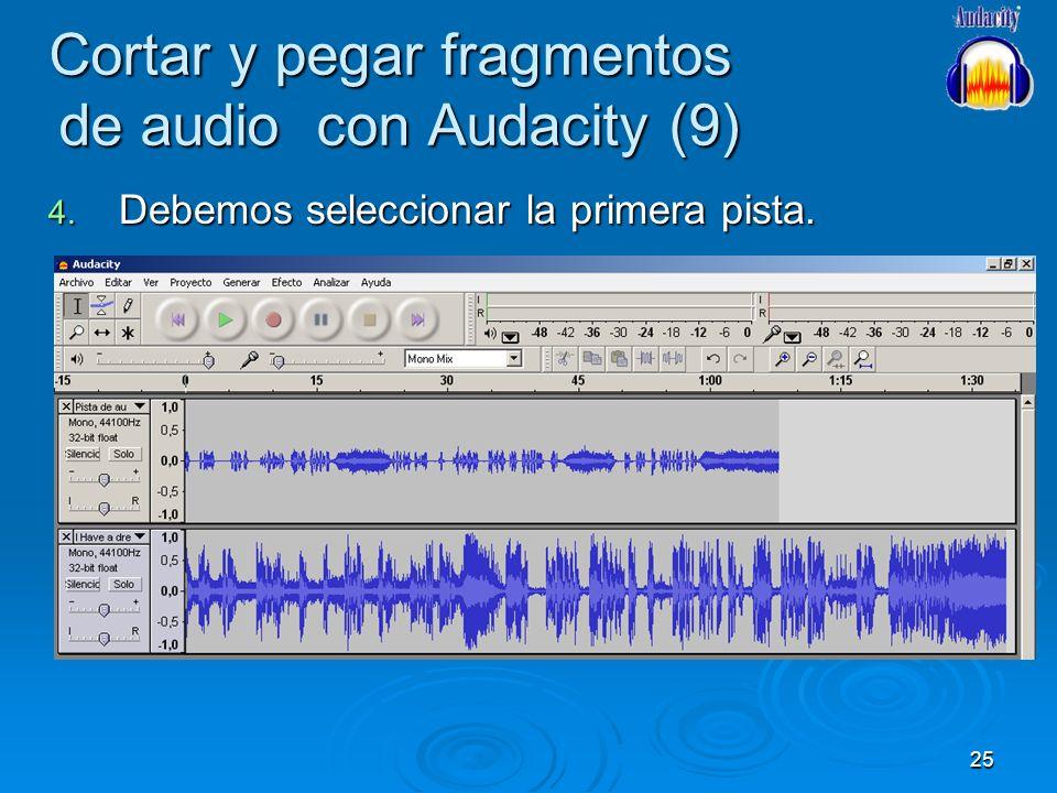 Cortar y pegar fragmentos de audio con Audacity (9)