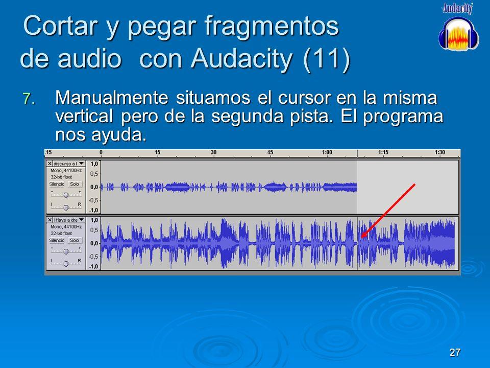 Cortar y pegar fragmentos de audio con Audacity (11)