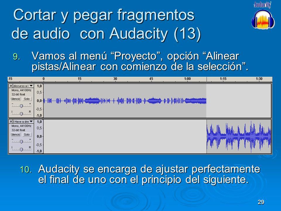 Cortar y pegar fragmentos de audio con Audacity (13)