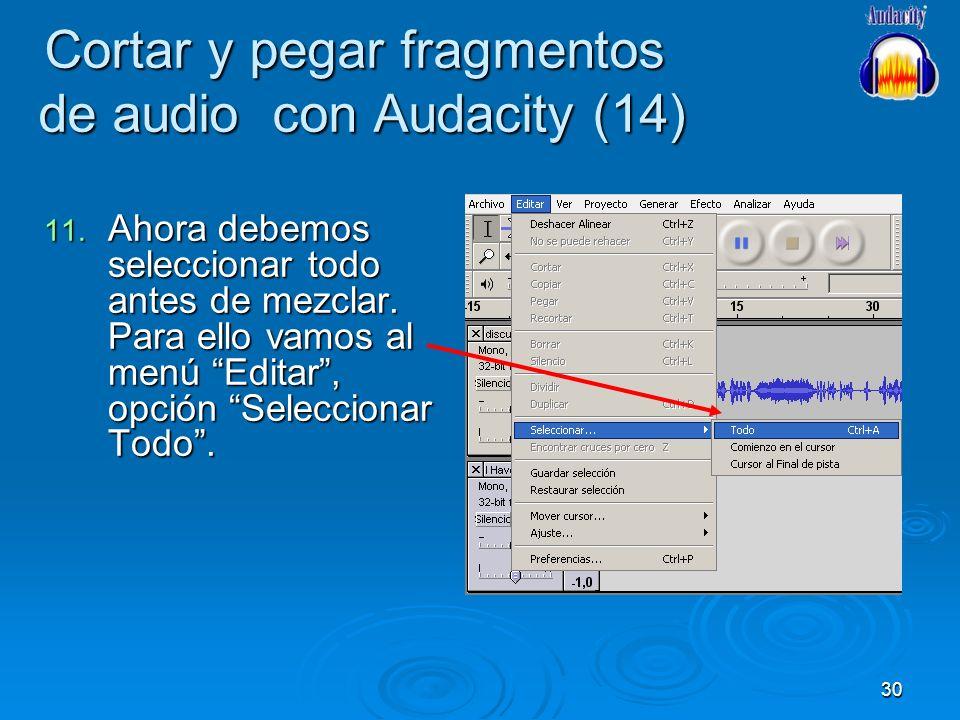 Cortar y pegar fragmentos de audio con Audacity (14)