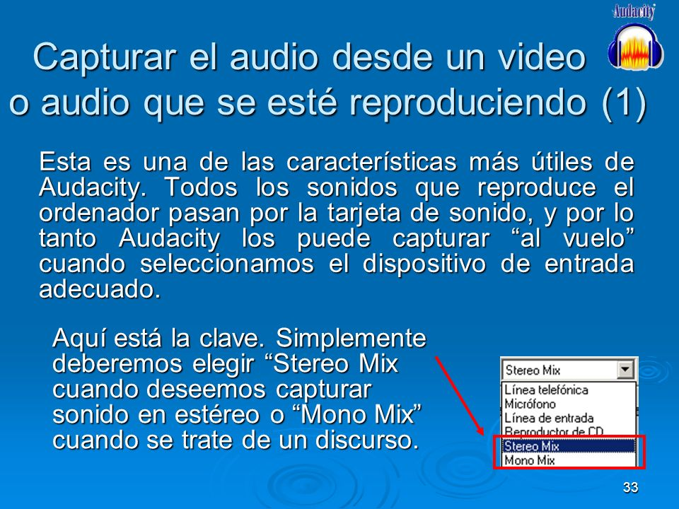 Capturar el audio desde un video o audio que se esté reproduciendo (1)