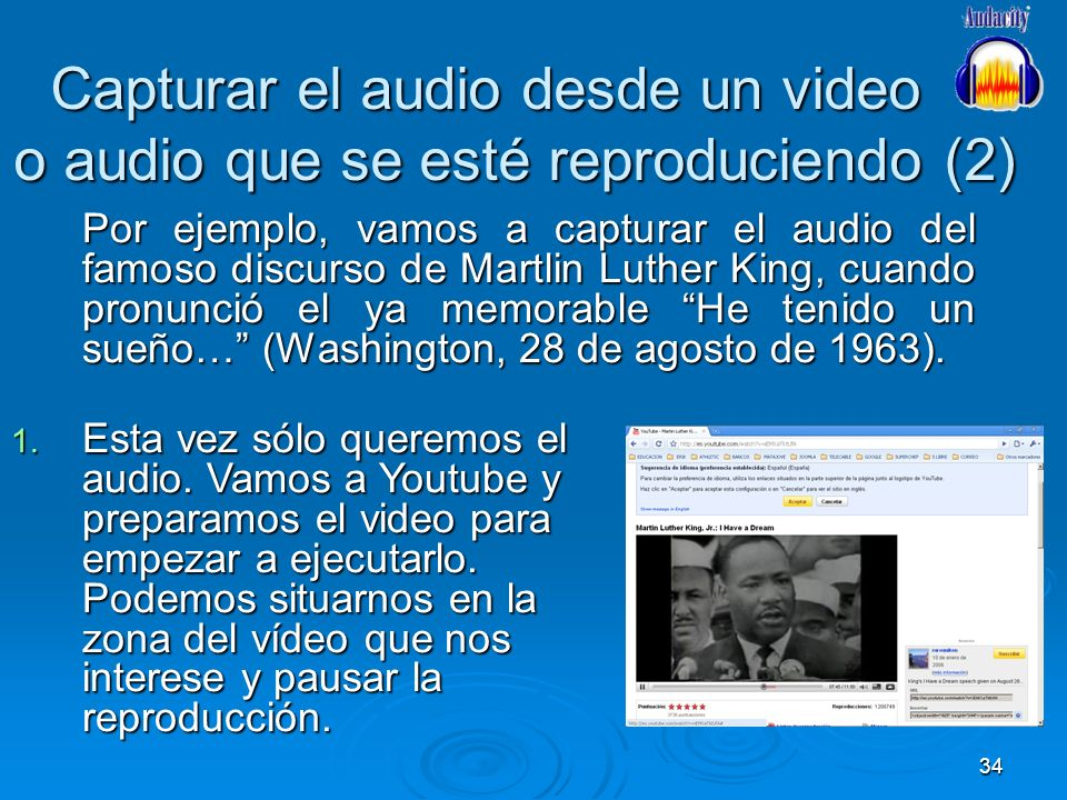 Capturar el audio desde un video o audio que se esté reproduciendo (2)