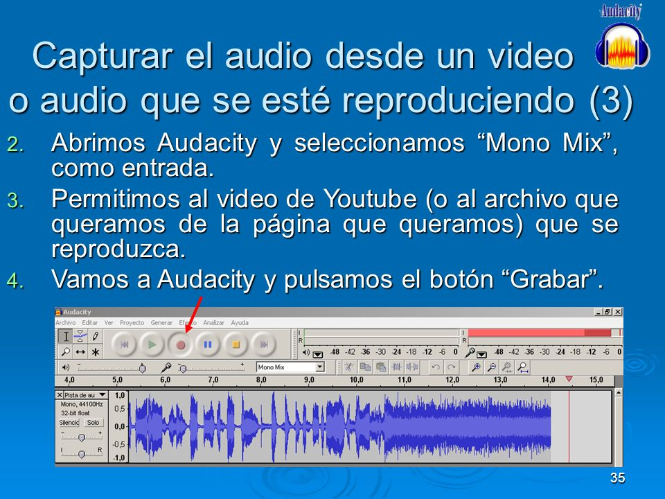 Capturar el audio desde un video o audio que se esté reproduciendo (3)
